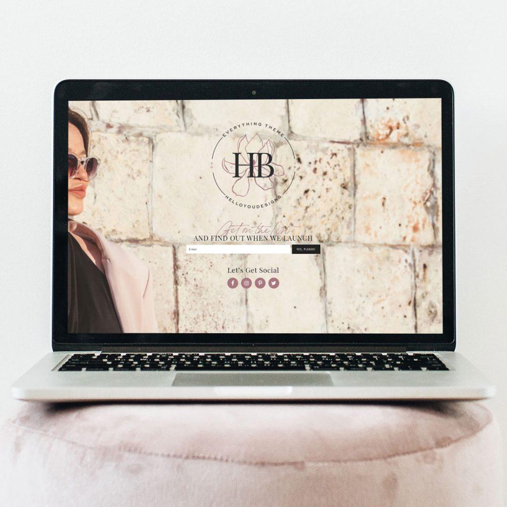 HB comingsoonpage